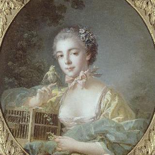 보두앙 부인의 초상, 화가의 딸