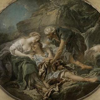 실비아의 품 속에서 삶을 되찾은 아미타스