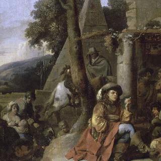 보헤미안과 군인들의 휴식