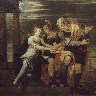 테아게네스와 카리클레아의 사랑 이야기 : 테아게네스의 맹세