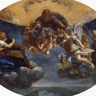 성부와 천사 가브리엘