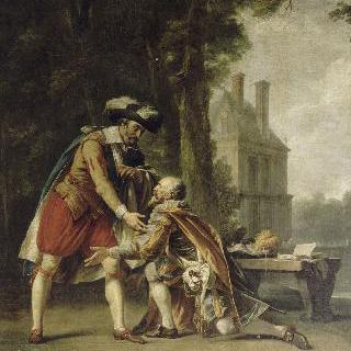 퐁텐블로의 앙리 4세와 쉴리