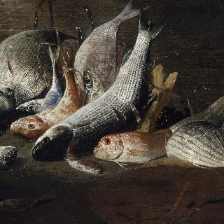 정물. 물고기와 게