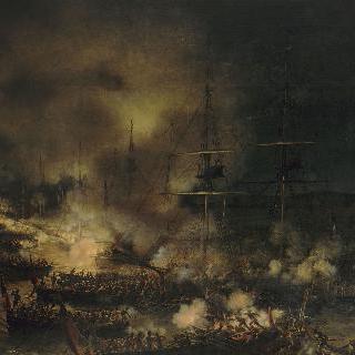 불로뉴, 야간 해군 전투