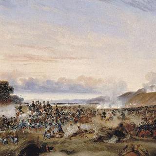 오랑지방 아브라 전쟁에서 승리한 클로젤 장군과  오를레앙 공작