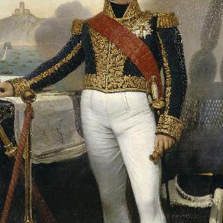 빅토르-기, 뒤페레 남작, 해군대장