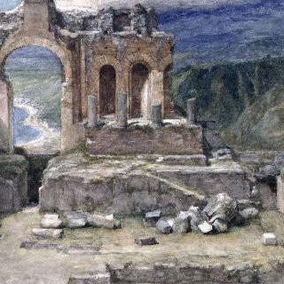 타오르미나, 그리스풍의 극장