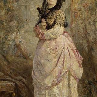 스페인 옷을 입은 바르크 백작부인