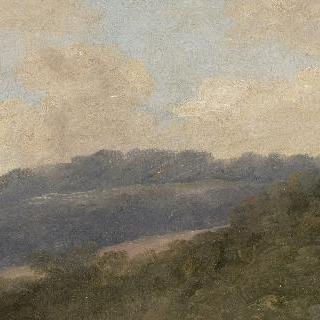 파욜라에서, 네미 근처 : 나무가 울창한 언덕들
