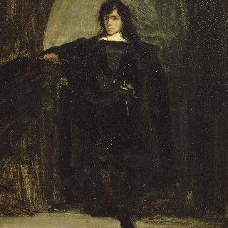 화가의 초상 (햄릿 옷을 입은 들라크루아의 초상)(레이븐스우드의 들라크루아)