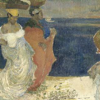 바닷가의 여인들
