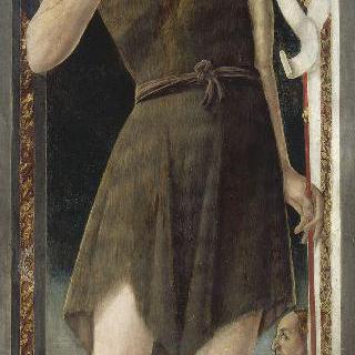 숭배자와 함께 있는 성 요한 밥티스트