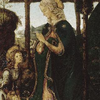 천사와 함께 있는 성모와 아기예수
