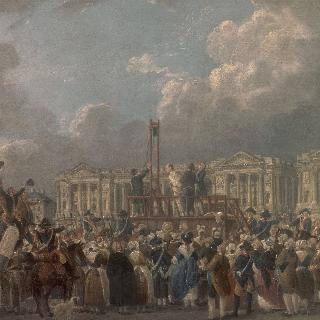 프랑스 혁명 광장에서의 사형집행
