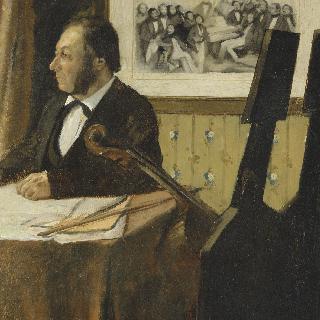 루이-마리 필레 (1815-1877), 오페라 오케스트라단의 바이올리니스트