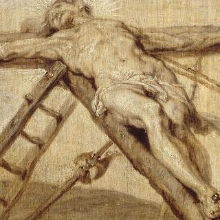 세워지는 십자가 (단색화)