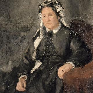 조젭 르 쾨르 부인 (1808-1874)의 초상