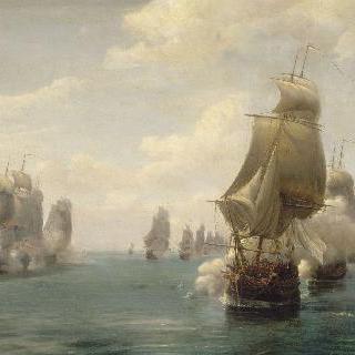 도미니카 해전, 1780년 4월 17일