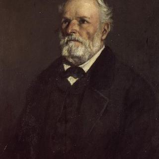 레지 쿠르베 (1798-1882)의 초상,화가의 아버지