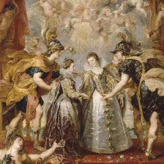 1615년 11월 9일, 앙다예의 비다소아 강에서의 스페인과 프랑스의 공주들의 교류