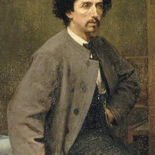 건축가 샤를 가르니에의 초상