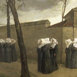 자매들의 산책