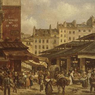 토넬르리 거리의 도매시장