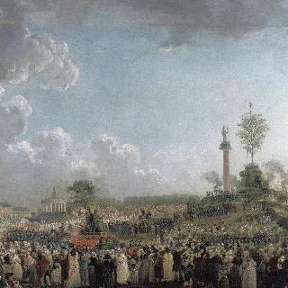 샹 드 마르스에서 열린 신을 위한 축제