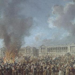 콩코르드 광장에서 열린 화합의 축제