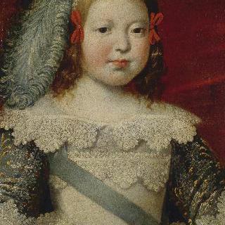왕태자 루이의 초상 (후일 루이14세)