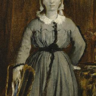 마그리트 드 가 (1842-1895), 화가의 여동생