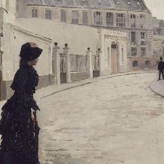 기다림. 파리 샤토브리앙 거리