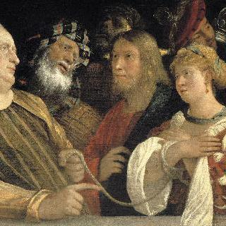 간통한 여인과 예수