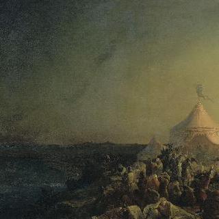 튀니스 앞에서 사망한 성 루이