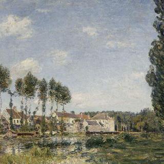 루앙 강변의 모레 마을
