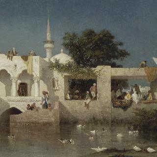 아달리아의 카페, 아달리아 부근 터키사람들의 거처