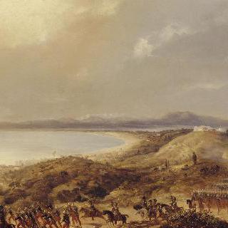 알제에 입성하는 프랑스 군대