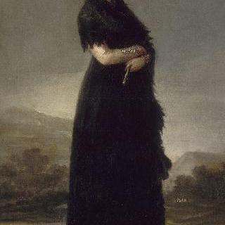마리아나 발트슈타인의 초상, 산타 크루즈의 9번째 후작부인 (소판)