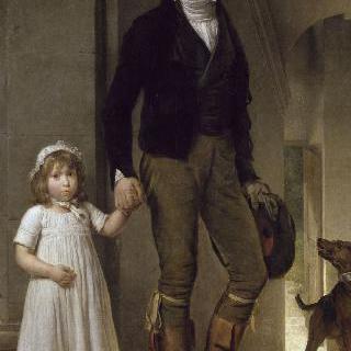 화가 이자베이와 그의 딸 알렉상드린