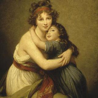 비제-르 브륑 부인과 그녀의 딸, 잔-뤼시(1780-1819), (쥘리)