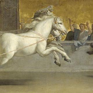 아킬레우스의 교육, 전차 경주
