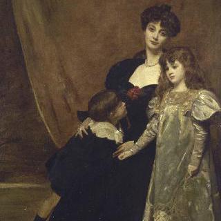 마리 안느 페도와 그녀의 아이들