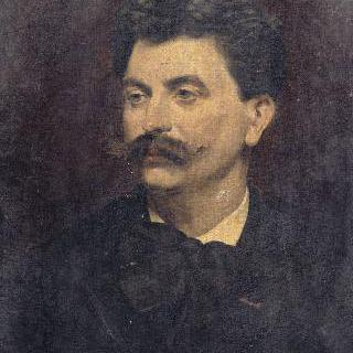 첼리스트 쥘 델사르의 초상