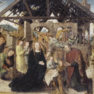 목동들의 경배 -성 루가와 세례 요한