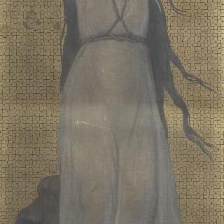 성녀 블랑딘, 엘리제 궁 교회의 장식화