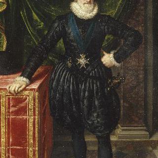 검은 옷을 입은 프랑스의 국왕 앙리 4세