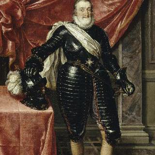 갑옷을 입은 프랑스 왕 앙리 4세