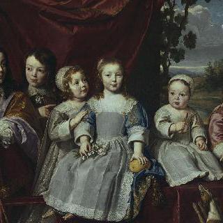 에베르 드 몽모르의 아이들