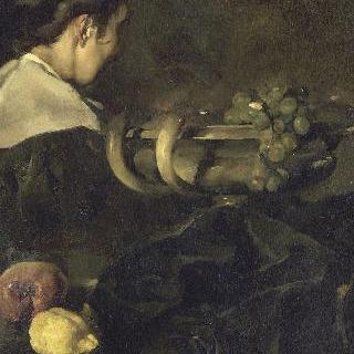 여인과 과일