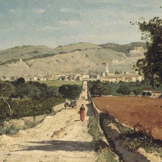 프로방스 지방의 풍경, 생 사튀르냉 레 잘프의 전경